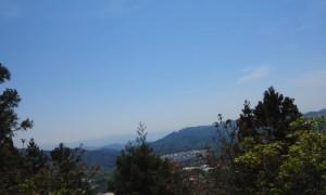 阿弥陀山から、瀬戸内海が見えるよ