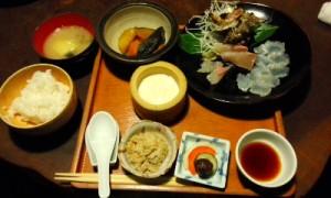 田吾作のお刺身定食